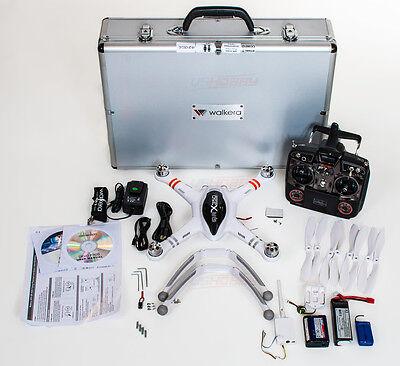 Walkera QR X350 w/ Devo F7DS Remote +Aluminum Case +GoPro FPV Kit - GPS RC Drone