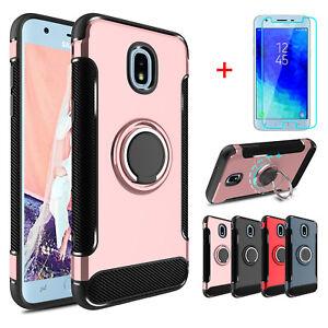 For-Samsung-Galaxy-J3-V-2018-Orbit-Star-SM-J337A-Ring-Case-Screen-Protector