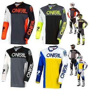 O-039-Neal-Mayhem-Lite-SPLIT-MOTOCROSS-JERSEY-MAGLIA-MX-Mountain-Bike-Shirt-MTB-DH-FR