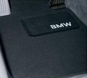 Bmw Car Mats Ebay >> Bmw Black Carpet Floor Mats Set Of 4 2004 2010 E60 525i 530i 545i