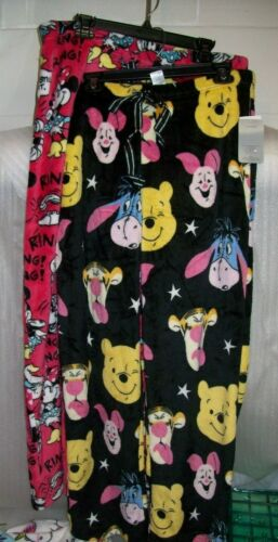 WOMEN/'S DISNEY PAJAMA SLEEP PANTS WITH DRAWSTRING NEW WITH TAGS MSRP$37.00