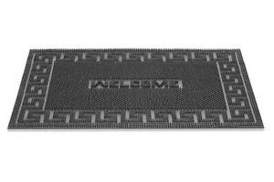 Außenmatte 60x40 cm Fußmatte Gummi Rechteckig Rutschfest Fußabtreter Türmatte