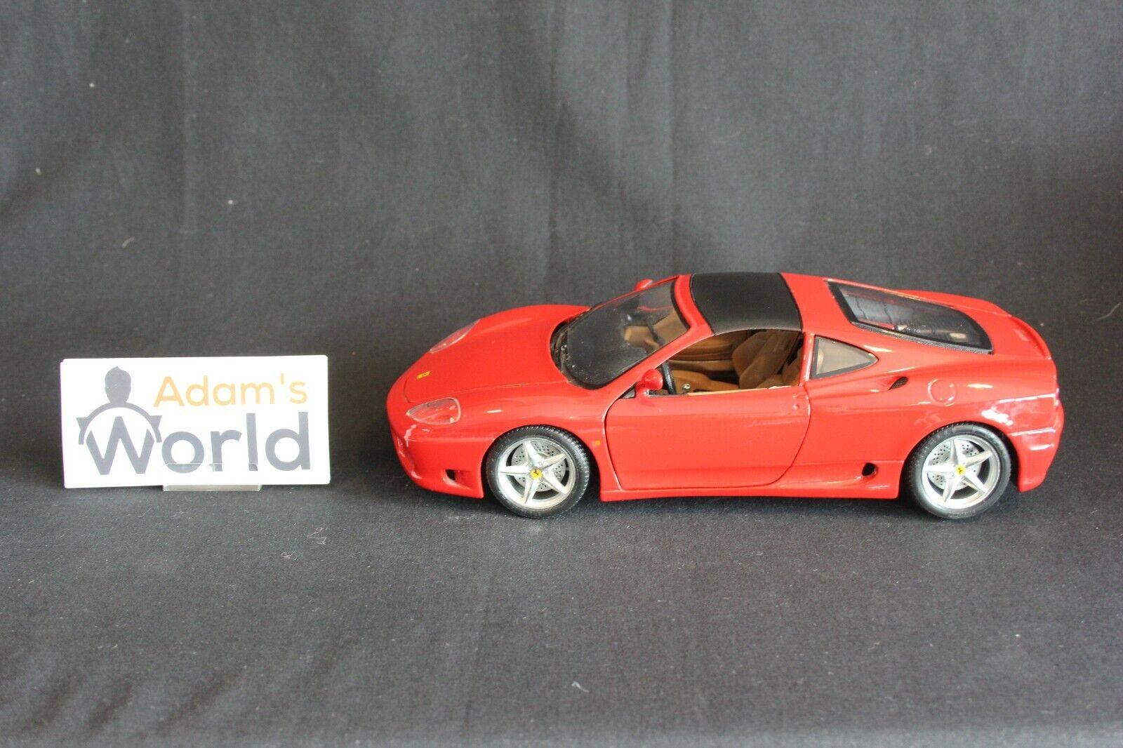 Bburago Ferrari 360 Modena  Targa  1 18 rouge  (PJBB)  les magasins de détail