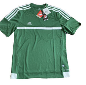 Details about New Adidas Youth MLS Match Jersey Green Soccer Shirt $40 Retail Size XL