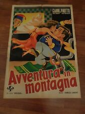 MANIFESTO,1947,AVVENTURA IN MONTAGNA,Hit the Ice,GIANNI PINOTTO,Abbott,Costello