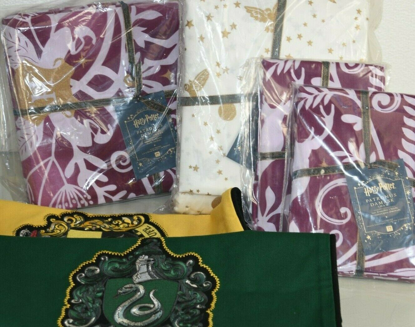 Nouveau POTTERY BARN Teen 9 pieces set harry potter Couette Sham Sheets Pillow Cover Queen