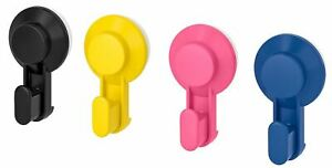 Ikea-TISKEN-Hook-with-suction-cup-Mixed-colours-Pack-of-4-Multi-Buy-Discount