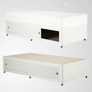Image Is Loading Kids Shorty White Leather Slide Storage 2ft6 3ft