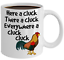 Chicken-Coffee-Mug-Gift-For-Chicken-Lover-Funny-Sarcastic-Ceramic-Cup-Gift-Cluck miniature 1