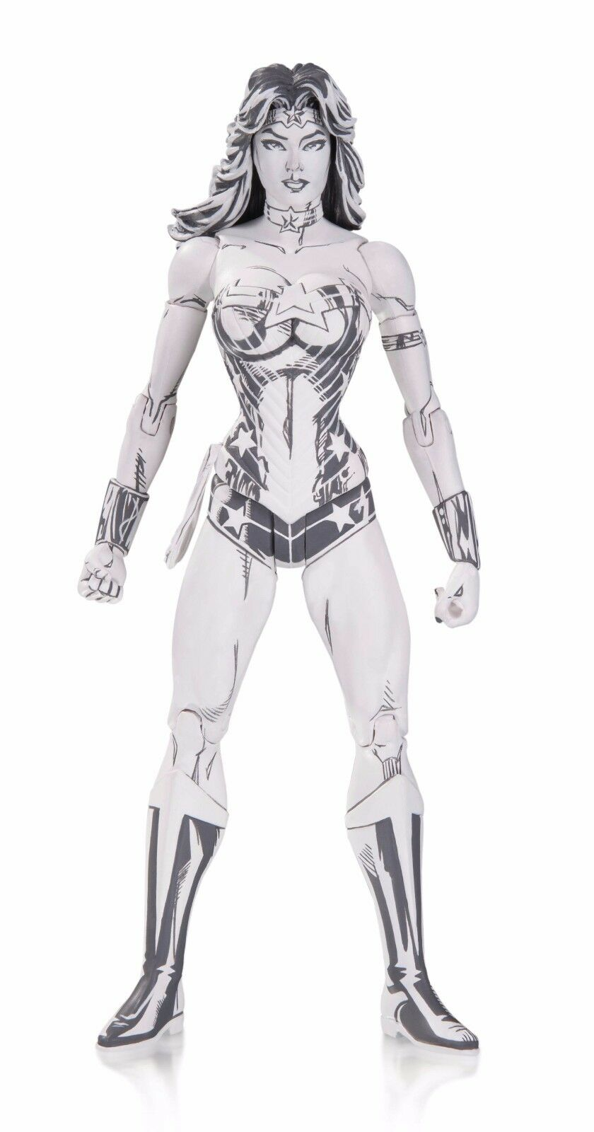 DC Blauline WONDER Damenschuhe Action Figure By JIM LEE