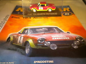 Deagostini Rally Car Collection Issue 53 1974 Fiat 124 Abarth