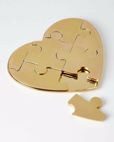 AERIN Heart Puzzle Desk Toy