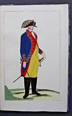 FleißIg Preussische Civil-uniformen,21 Kolorierte Kupfertafeln,potsdam & KÜstrin,1787-88 Elegant Im Geruch