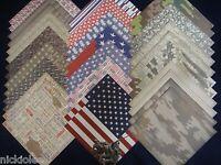 12x12 Scrapbook Paper Studio Proud To Serve Patriotic Usa Camouflage Army 40 Lot