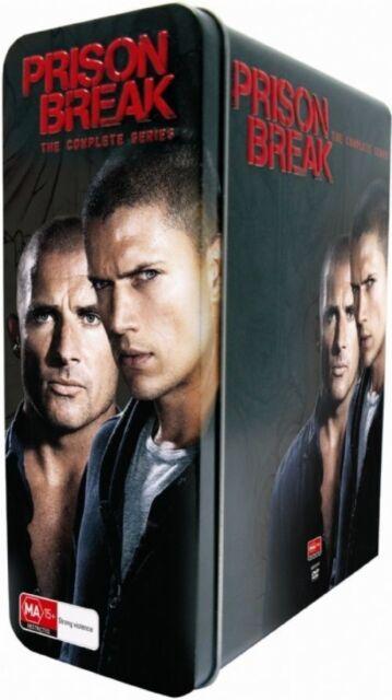 Prison Break : Season 1-4 (DVD, 2009, 23-Disc Set)