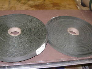 "3/4"" Nylon Olive Drab Webbing (2 rolls of 50yds)"
