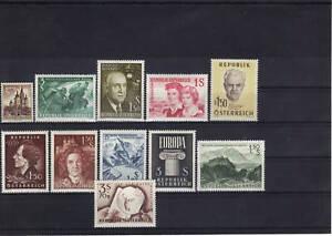 Österreich Jahrgang 1960 komplett feinst postfrisch - St. Pölten, Österreich - Käufer haben das Recht innerhalb von 10 Tagen den gekauften Artikel zurückzusenden. Die Kosten für die Rücksendung trägt der Käufer. - St. Pölten, Österreich