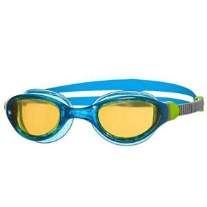 Zoggs-Phantom-2-0-UV-Protection-Anti-Fog-Swim-Pool-Goggles-Blue-Grey