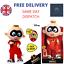 Disney-Incredibles-2-Fightin-039-Fun-Jack-Jack-Plush-Toy-Talk-Walk-amp-Light-Up thumbnail 1