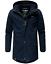Weeds-senores-chaqueta-invierno-larga-chaqueta-Parka-abrigo-forro-calido-manakaa miniatura 9