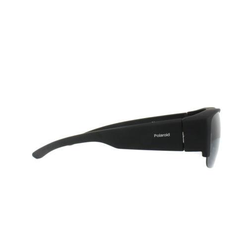 Polaroid Suncovers Fitover Sunglasses PLD 9007//S DL5 Y2 Black Grey Polarized