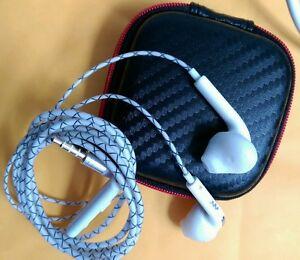 Vente-chaude-luxe-in-ear-ecouteurs-avec-etui-pour-Samsung-iPhone-Ipod-HTC-Sony