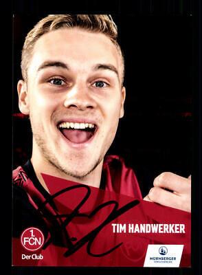 Johannes Geis Autogrammkarte 1 FC Nürnberg 2019-20 Original Signiert