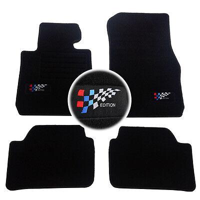 4 TAPIS CAOUTCHOUC BMW SERIE 1 F20 116i 116d 118i SOL 3D TPE SPECIFIQUE