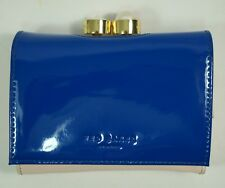 7fa0adb3971400 item 2 Ted Baker New Alix Pearl Bobble Patent Small Leather Purse Blue -Ted  Baker New Alix Pearl Bobble Patent Small Leather Purse Blue