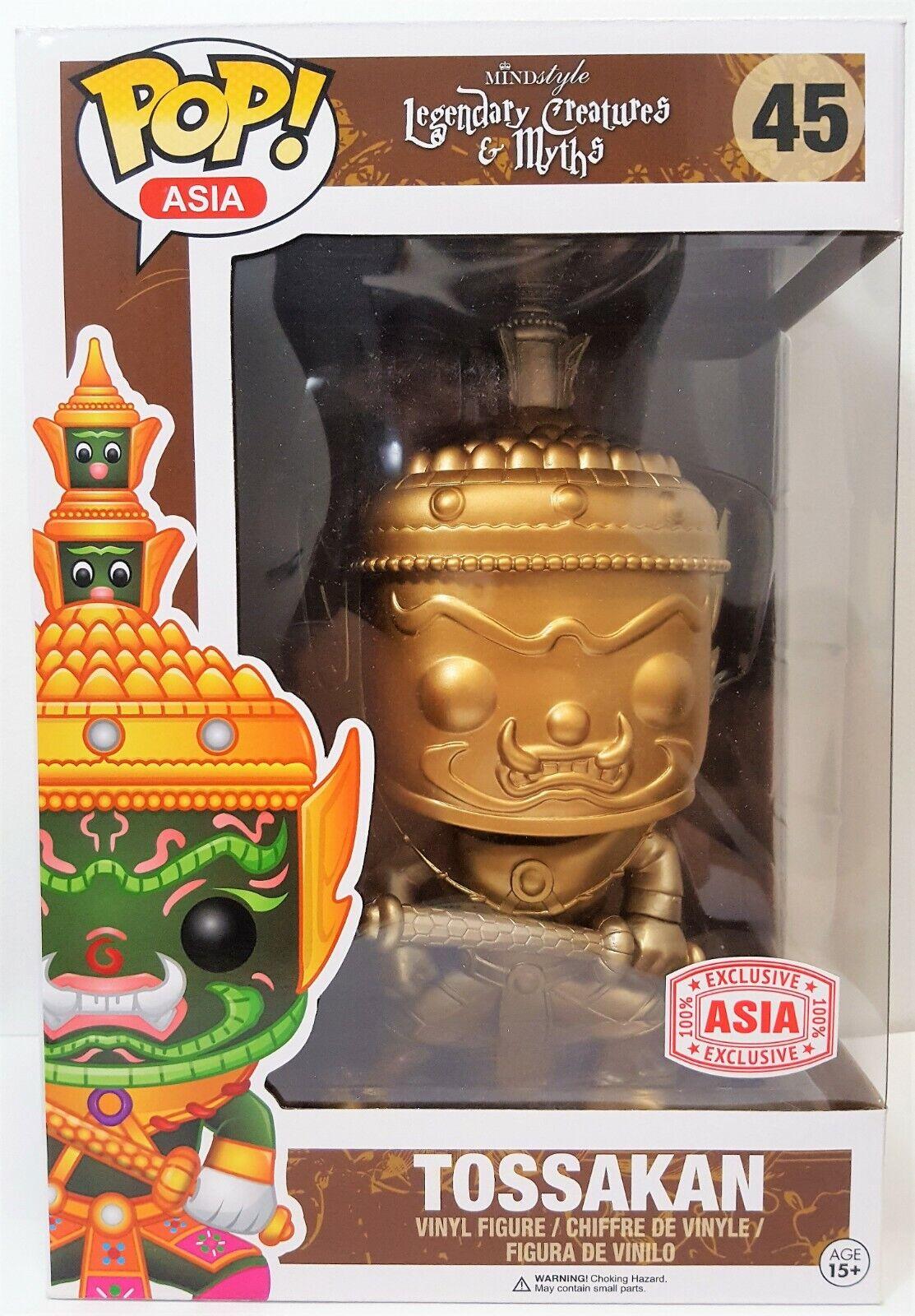 Funko  Pop Asia Excl or Tossakan   45 Legendary Creatures Vinyl Figure  prix de gros et qualité fiable