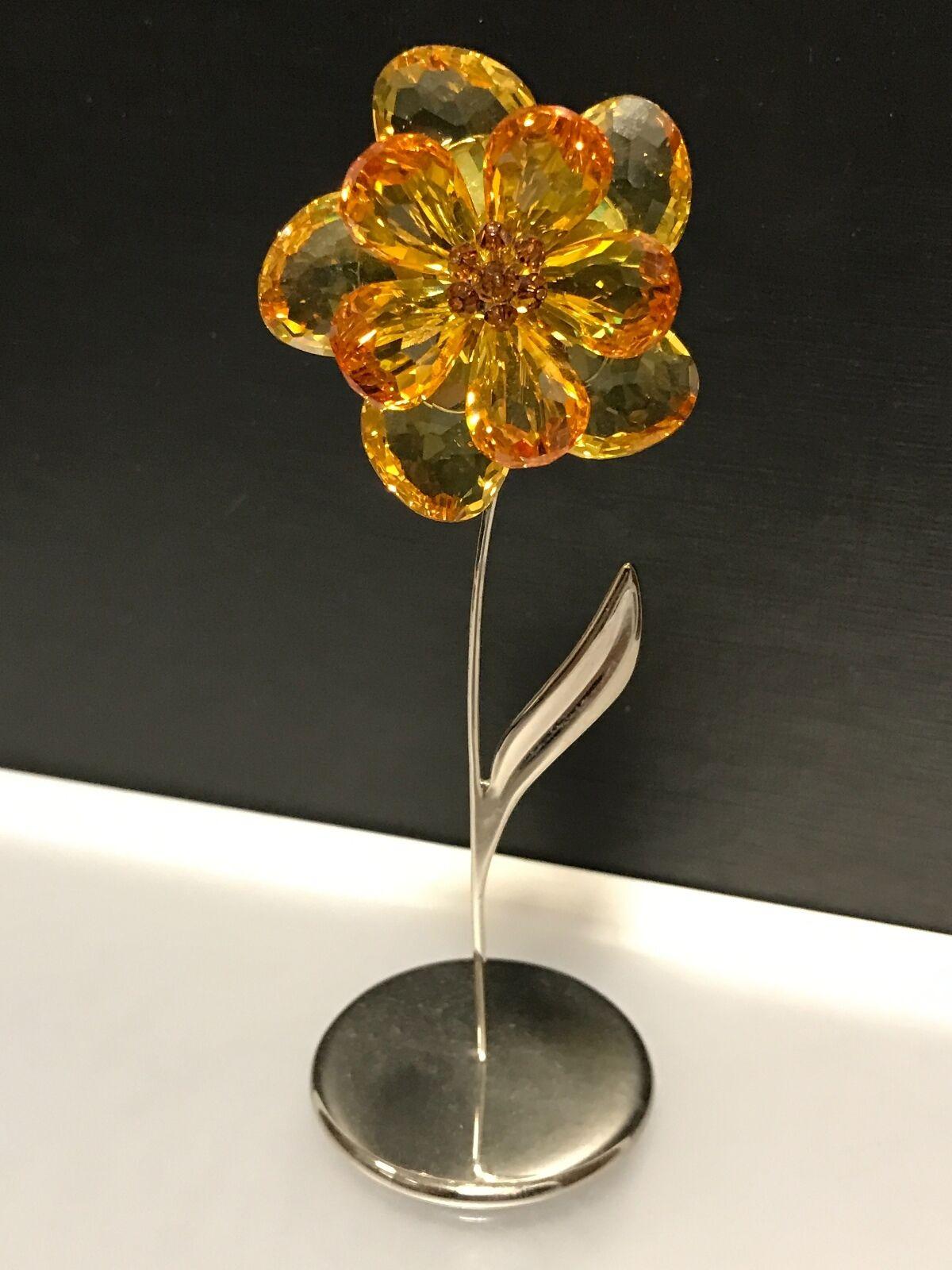 Swarovski Figurine Fleur cm 11,5 cm Fleur excellent état 799893