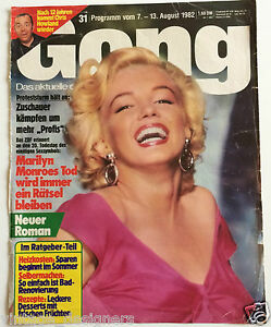 Marilyn-Monroe-Gong-1982-German-Magazine-Cover-Niagara-Dress-Cover-Only