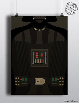 Minimalist Torso Poster Minimal Chest Print by Posteritty R2-D2 STAR WARS
