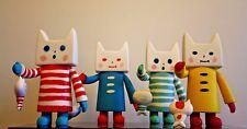 "GALLE COLLE  Toy2R Designer Toy  6"" NEKONOKO Cat Carp Figure BLUE"