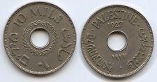 Palestine 10 Mils, 1927