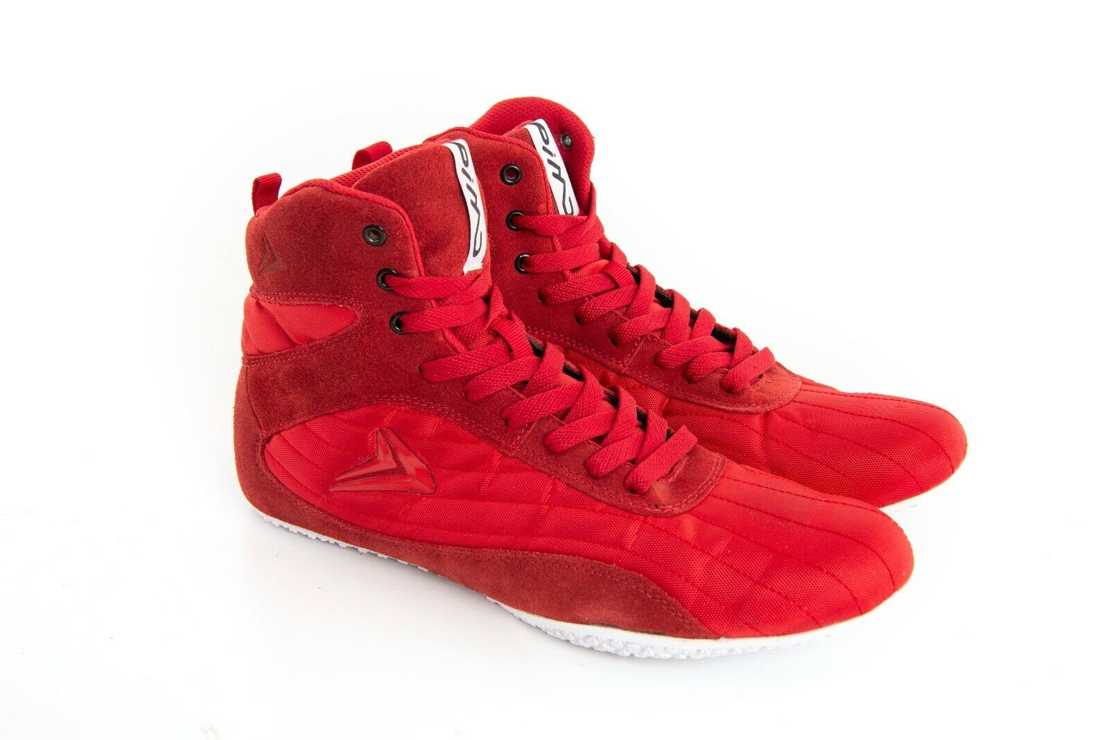 PIMD rot X-Core V2 Gym schuhe Training Hi Top Stiefel Bodybuilding MMA Boxing NEW
