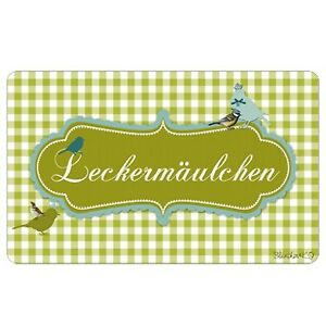 Blümchen /& KO LECKERMÄULCHEN Frühstücksbrettchen Vesperbrett