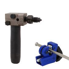 "3/16"" Brake Line Double Flare Flaring Tool SAE Bundy Pipe Tube Mini Cutter"
