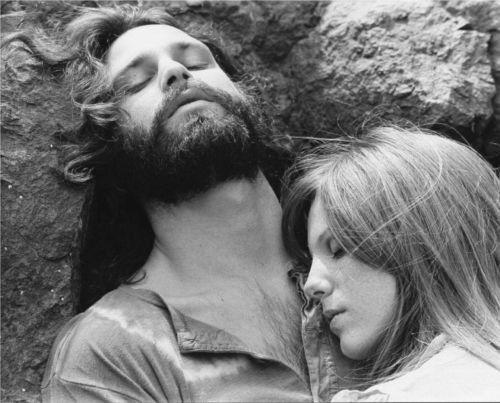 """Jim Morrison Pamela Courson The Doors Photo Print 11x14/"""""""