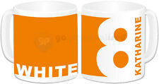 Personalised Lucky Number and Favourite Colour Mug- Any Name, Number and Colour