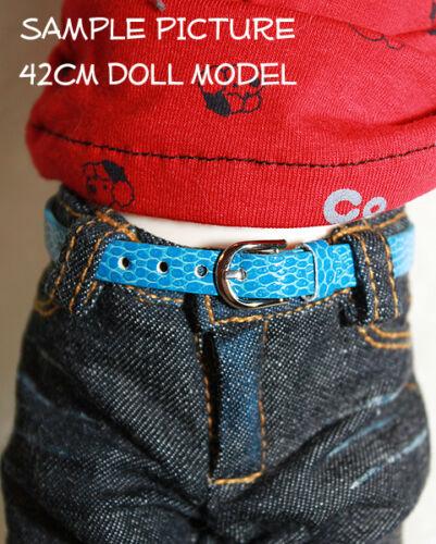 """1//4 scale doll belt 8.5/"""" x .25/"""" MSD BJD Dollfie Unoa Ellowyne Wilde Light Purple"""