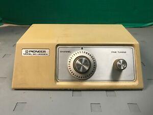 Vintage Pioneer TV Converter BC-2002A
