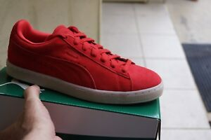 9 5 Shoes Puma 9 Colored New Red Suede 10 Classic q8PP4SxY