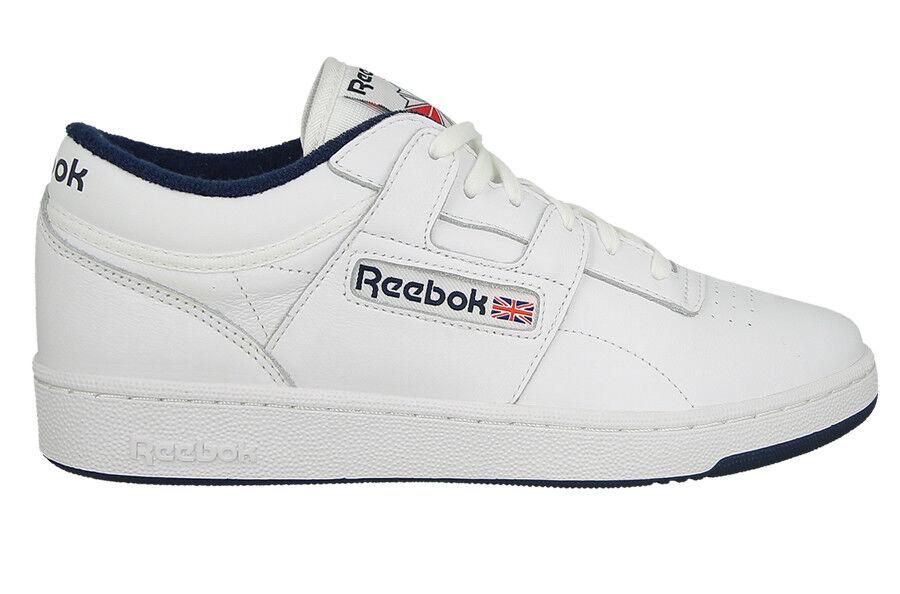Para Hombres Zapatos Tenis REEBOK CLUB WORKOUT [] COURT BS6186 [] WORKOUT 547753