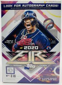 2020-Topps-FIRE-Baseball-Blaster-Box-FACTORY-SEALED