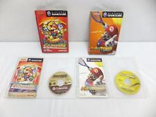 "NINTENDO GAMECUBE "" PAPER MARIO RPG MARIOTENNIS GC "" SET BOXED JAPANESE GAME"