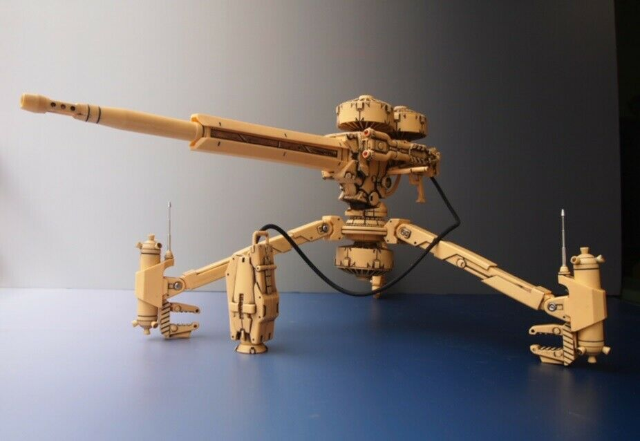 Gundam Self Predection Defense Army Weapon Cannon GK Resin Conversion Kits 1 100