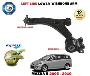 FOR MAZDA 5 CR19 2005-2010 FRONT LEFT SIDE LOWER WISHBONE SUSPENSION CONTROL ARM