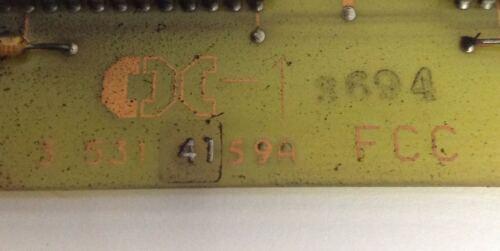 3 531 4159A *PZB* CINCINNATI MILACRON FCC CONTROL BOARD