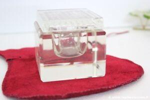 CALAMAIO-IN-VETRO-ANNI-039-70-MODERNARIATO-VINTAGE-ITALIAN-GLASS-INKWELL